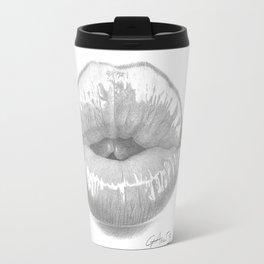Affetto / Affection - Kiss Lips - Mouth Travel Mug