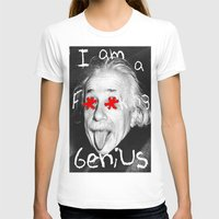 einstein T-shirts featuring Einstein  by Hijack:D