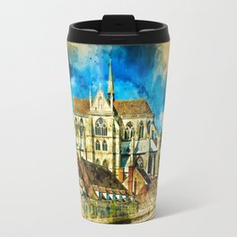 Auxerre France Travel Mug