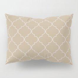 Warm Sand Quatrefoil Pillow Sham
