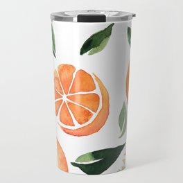 Summer oranges Travel Mug