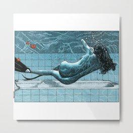 asc 961 - La sirène d'intérieur (My world is a goldfish bowl) Metal Print
