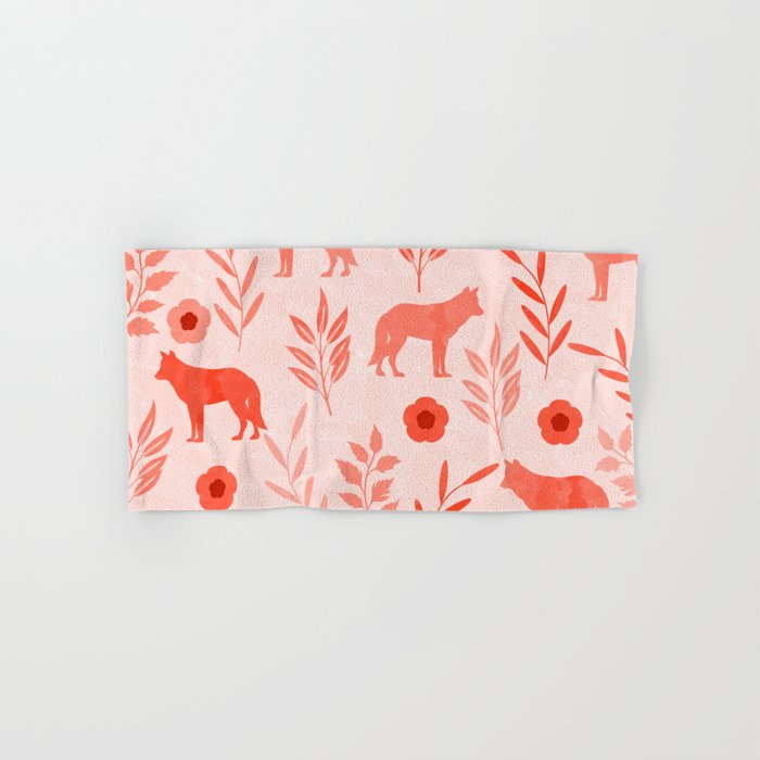 Forest Animal and Nature II Hand & Bath Towel