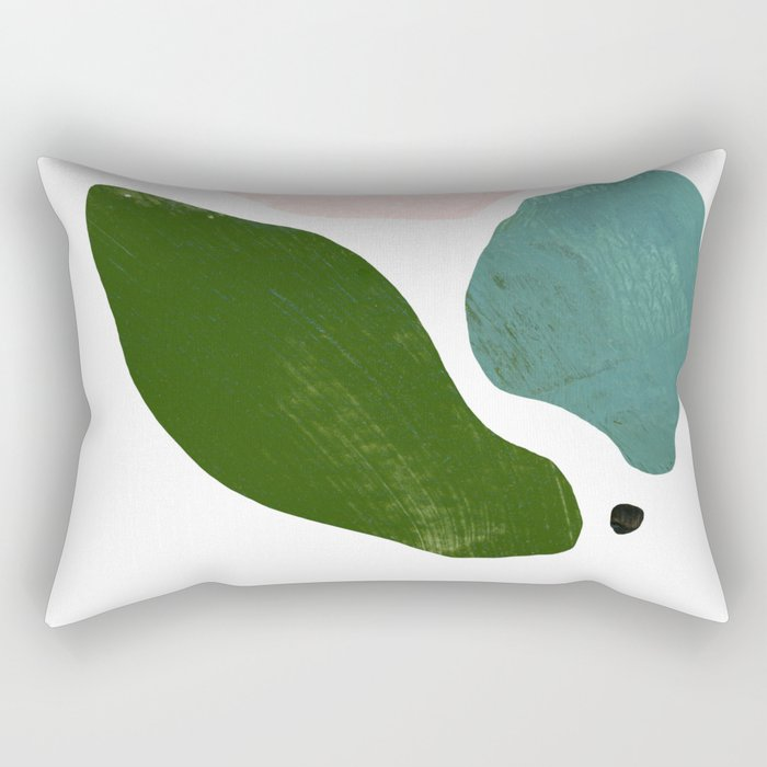 We Talk Softly Rectangular Pillow