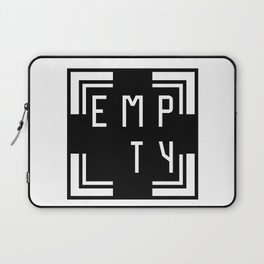 empty Laptop Sleeve