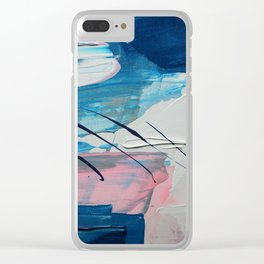Good Intentions Clear iPhone Case