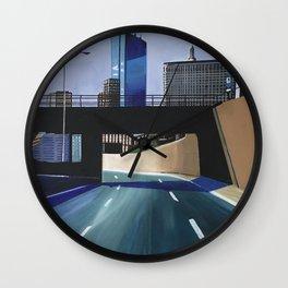 Westbound, Boston Mass. Wall Clock