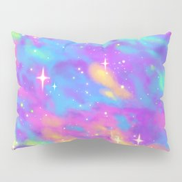 Pastel Galaxy Pillow Sham