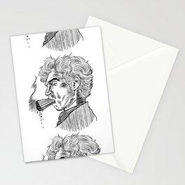 London Smoking Habit (Lineart) Stationery Cards