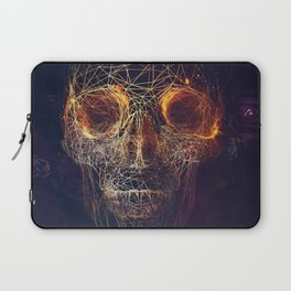 Networking Skull Art Laptop Sleeve
