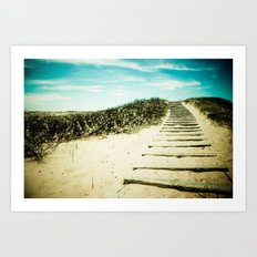 Steps to Your Dreams Art Print