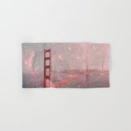Stardust Covering San Francisco Hand & Bath Towel