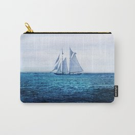 Sailing Ship on the Sea Carry-All Pouch