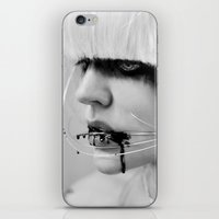 the wire iPhone & iPod Skins featuring wire. by Miklos