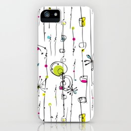 Quirky Icons iPhone Case
