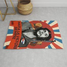 Che Guevara - hasta la victoria siempre Rug