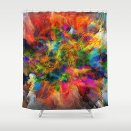 Untitled 2019, No. 10 Shower Curtain