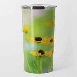 Black Eyed Susans in Summer Travel Mug