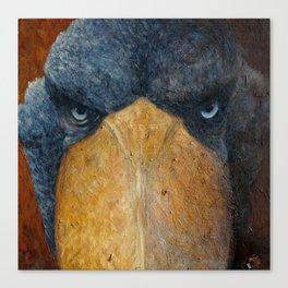 Shoebill (Balaeniceps rex) Canvas Print