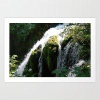Roughlock Falls Art Print