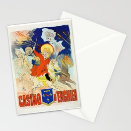 1890 Casino Enghien France Stationery Cards