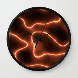 Electricity Wall Clock