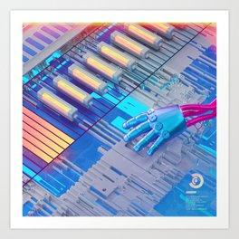 Dataset Art Print