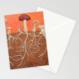 Laughing Shrooms Stationery Cards