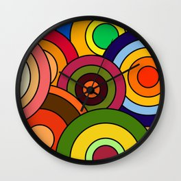 African Style No12, Celebration Wall Clock