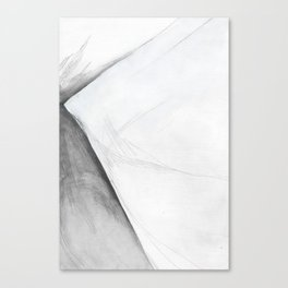 Shale Square Geometry Canvas Print