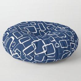 On The Quad - Navy Blue Floor Pillow