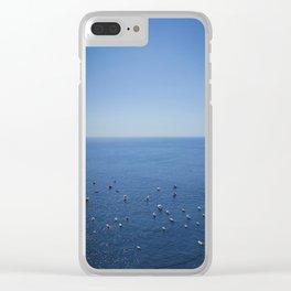 Amalfi coast 1 Clear iPhone Case