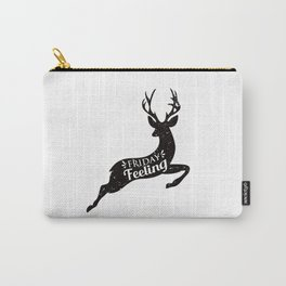 Friday Feeling Jump Carry-All Pouch
