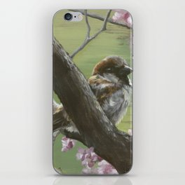 Sparrows of Spring 1 iPhone Skin