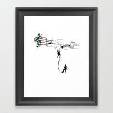 TANAN (Fighting for Love) Framed Art Print