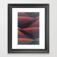 FLYING at Night Framed Art Print