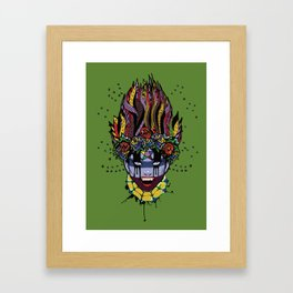 Mystical Feg the Vampire Priestess  Framed Art Print