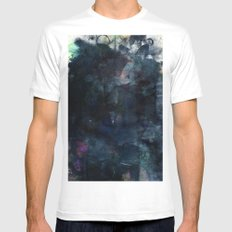Intermission MEDIUM White Mens Fitted Tee