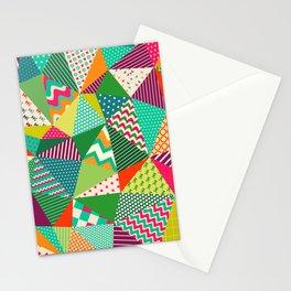 Patch Work Pattern. Stationery Cards