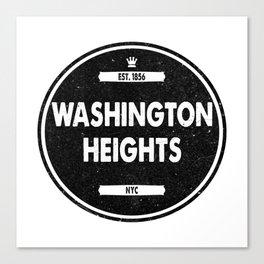 Washington Heights Canvas Print