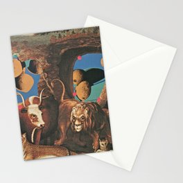 Warhol's Cantaloupes In The Peaceable Kingdom  Stationery Cards
