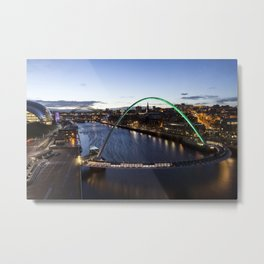 Newcastle Quayside Metal Print