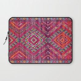 N118 - Pink Colored Oriental Traditional Bohemian Moroccan Artwork. Laptop Sleeve