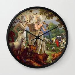 The Three Graces Wall Clock