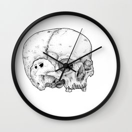Homo sapien Wall Clock