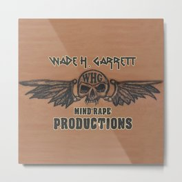 Mind-Rape Productions Metal Print