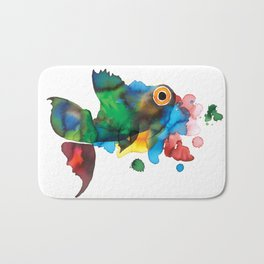 colorful fish Bath Mat