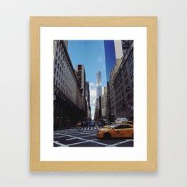 Pulitzer Fountain Framed Art Print
