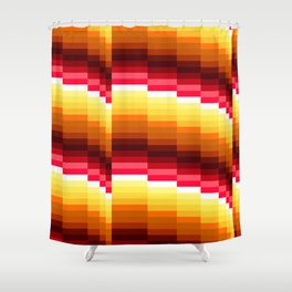 Wavelength B Shower Curtain