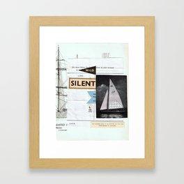 Lima •–•• Framed Art Print